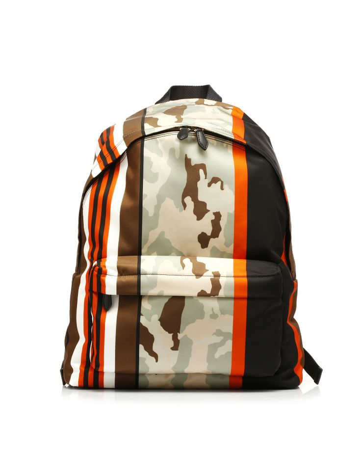 Backpack fabric printed with the subjects visual collection of #Givenchy