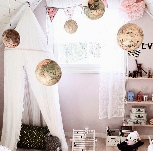 mommo design: GIRLY READING NOOKS- Love everything about this room. The soft pink, white, black & gold color scheme is killing it!