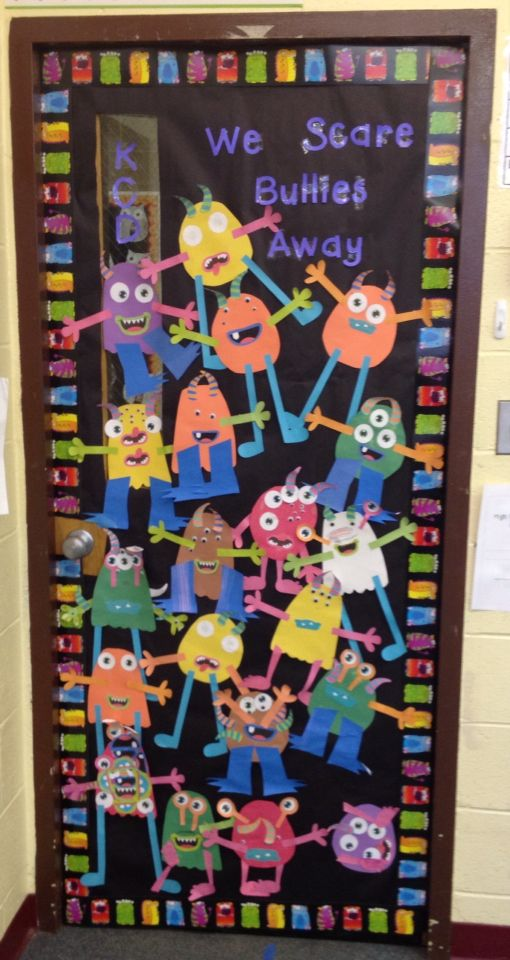 We scare bullies away! Anti-bully door