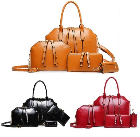Ensemble de sacs à main portefeuilles porte-clés - bestyle29.com