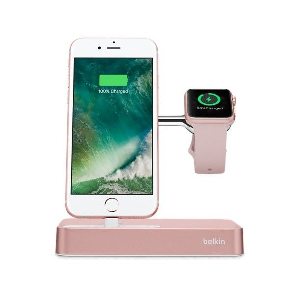 Belkin Valet Charge Dock for Apple Watch iPhone ❤ liked on Polyvore featuring accessories, tech accessories, belkin and apple iphone watch