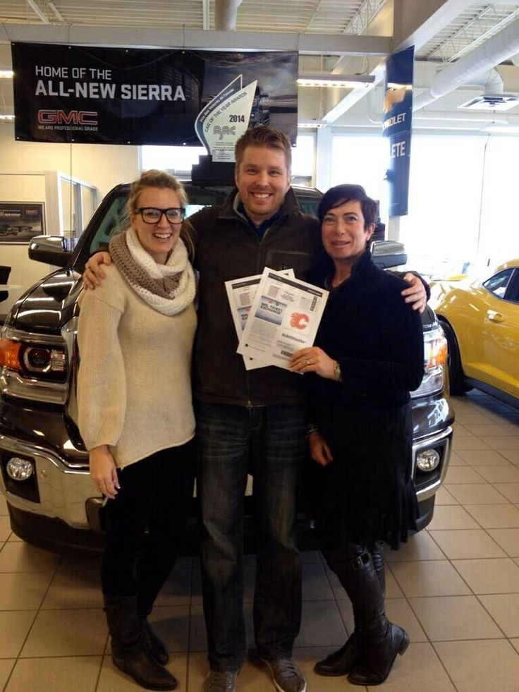 We ran a twitter contest and Rob won the prize! Flames tickets! Congrats Rob!