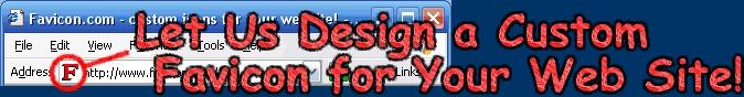 Favicon design services.