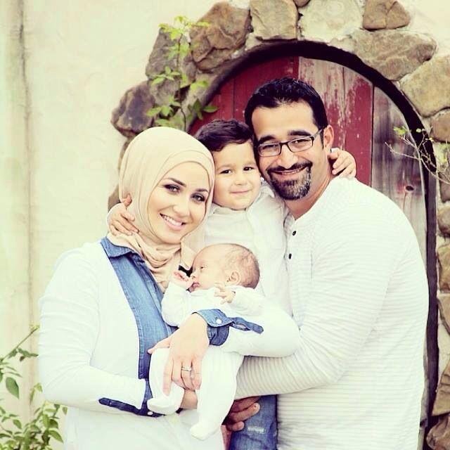 ❤️ Cute Muslim Family