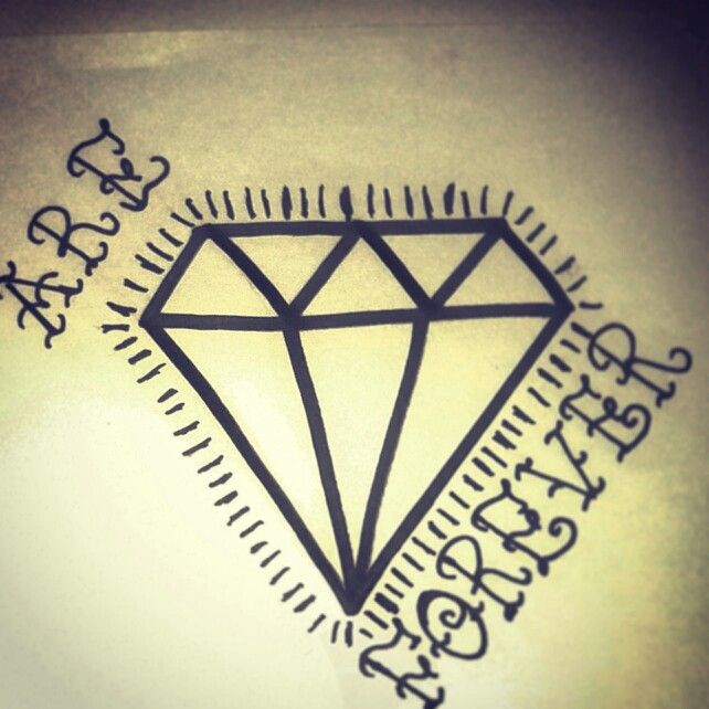 Diamonds are forever ;) my sketch