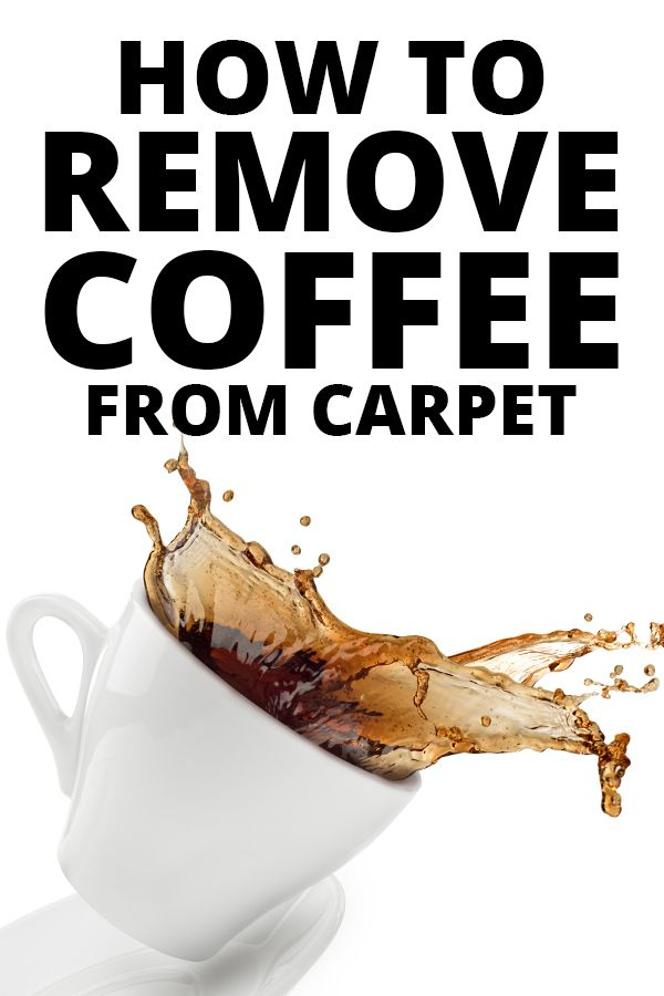 Use This Easy Cleaning Diy To Make A Diy Coffee Stain Remover
