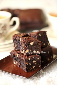 Resep Brownies Kacang Mete Bebas Gluten JTT