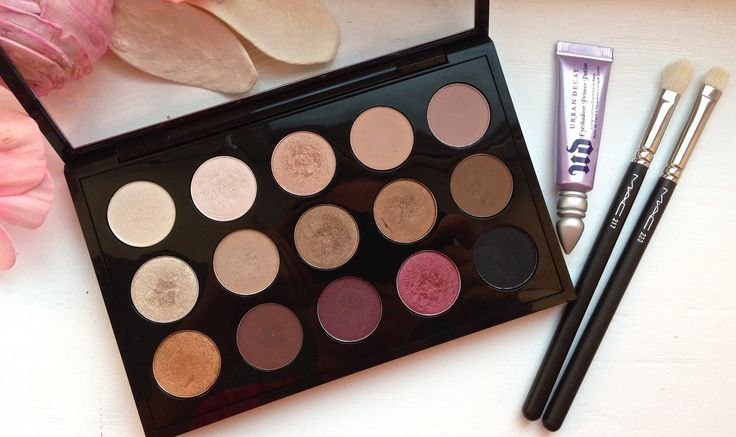 MAC Customised Eyeshadow Palette: each shade explained and reviewed
