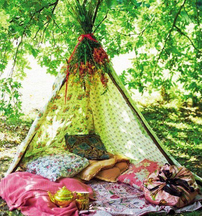les 25 meilleures id es de la cat gorie fabriquer un tipi sur pinterest tente enfant d co. Black Bedroom Furniture Sets. Home Design Ideas