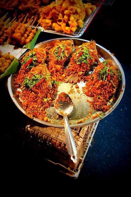 Tasty Street Food - Chiang Mai, Thailand #food