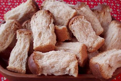 rusks...they take forever to make, but they are worth it.