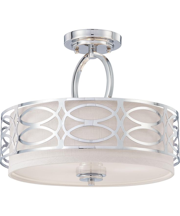 Nuvo lighting 60 4629 harlow semi flush mount capitol lighting 1800lighting com