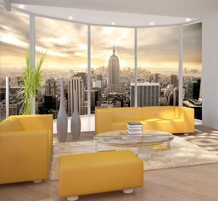 die besten 25 fototapete new york ideen auf pinterest new york tapete fototapete fenster und. Black Bedroom Furniture Sets. Home Design Ideas