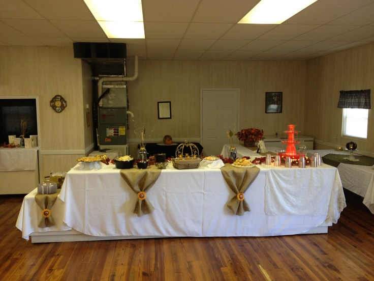 ... Table Had With Clips Glass Table Tables Runners White Burlap Runners  Upon On Buffet Sunflower ...