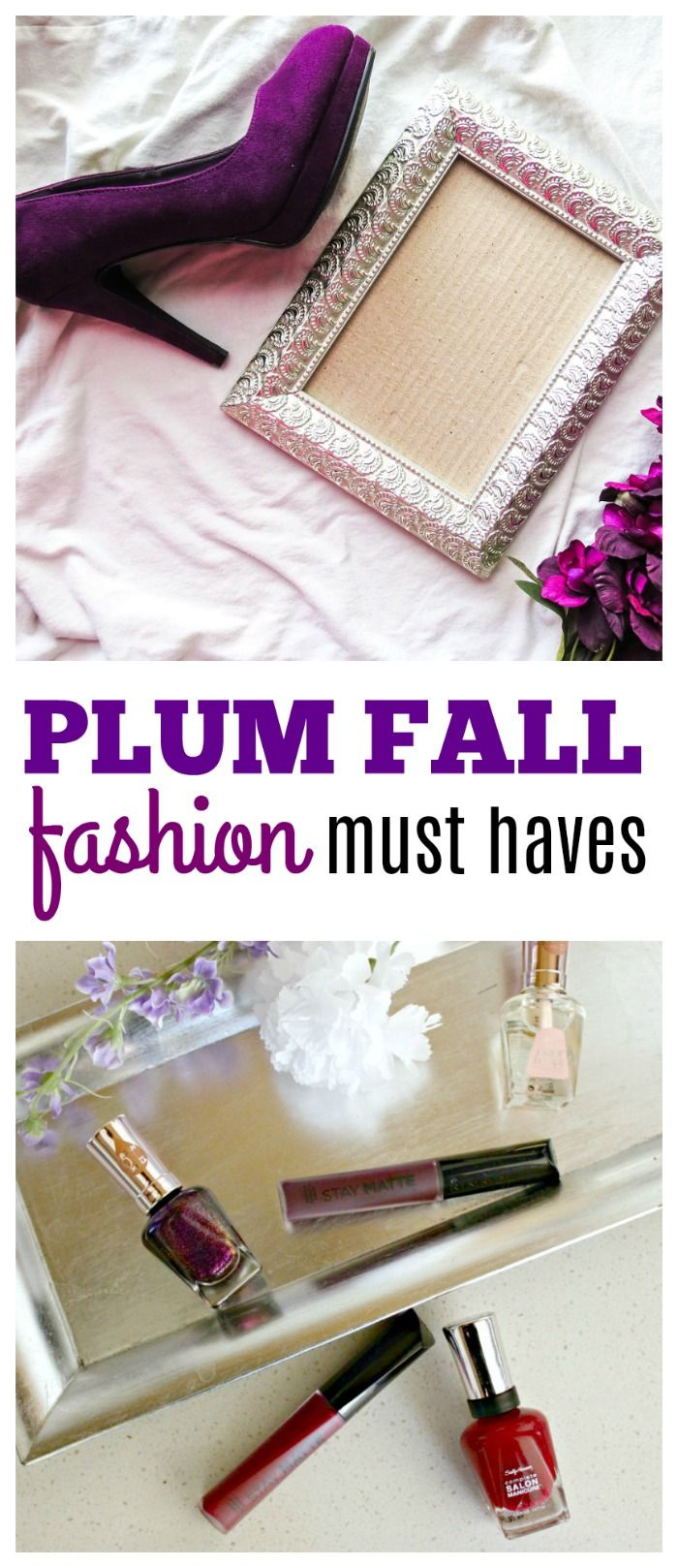 Plum Color Lipstick and Other Fall Fashion Must Haves via @ellenblogs ad