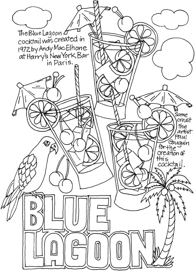 Creative Haven Happy Hour Wine Beer And Cocktails Coloring Sheets Coloring Books Pattern Coloring Pages Food Coloring Pages