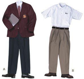 school uniforms cons essay