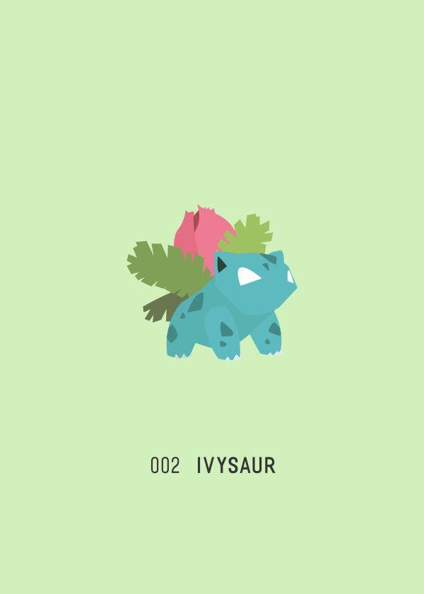 "Pokémon Starters & Evolutions 002 Ivysaur #Displate artwork by artist ""Ariadna S. C."". Part of a 9-piece set featuring designs based on the three Pokémon starters and their evolutions. £39 / $52 per poster (Regular size), £71 / $104 per poster (Large size) #Pokemon #Pokémon #PocketMonsters #GottaCatchEmAll #Bulbasaur #Ivysaur #Venusaur #Charmander #Charmeleon #Charizard #Squirtle #Wartortle #Blastoise #Nintendo"