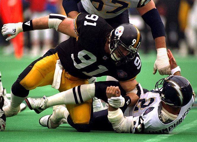 Kevin Greene, Pittsburgh Steelers--played college football for my other favorite football team----the Auburn Tigers!