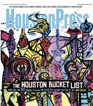 The Houston Bucket List: The Top 100 Things To Do In Houston Before You Kick It, via the Houston Press. How many of these have you checked off of your list?