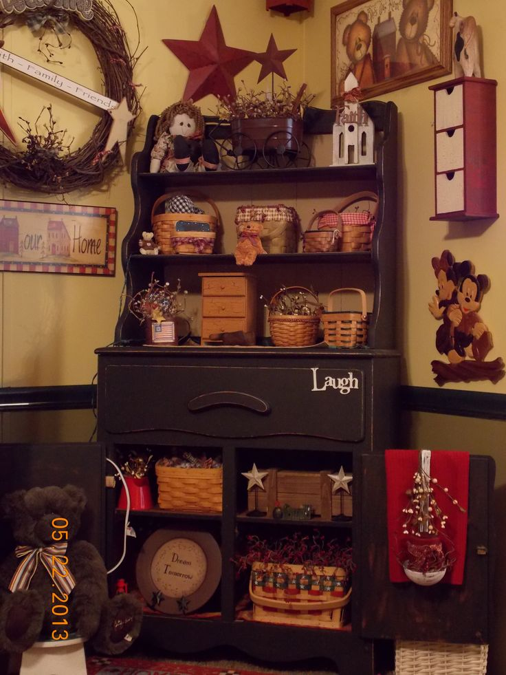 primitive country decor decorating gsthering