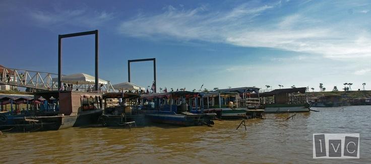 Embarcadero en Lago Tonle Sap