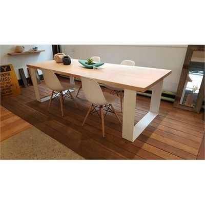 Grange Victorian Ash Timber Dining Table 1.8m