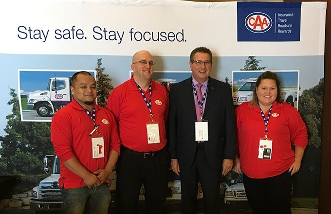 CAA towing contractors learn about Pardon Services Canada -