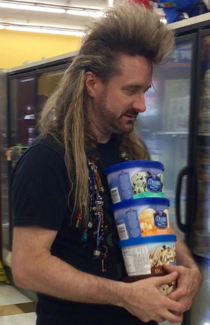 People of Walmart....all the ice cream. I love it