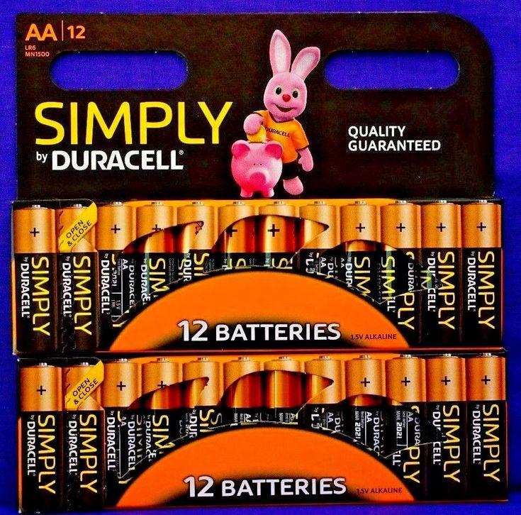 24 x Duracell AA Batteries.. Alkaline Battery.. Brand New Bateries #Duracell