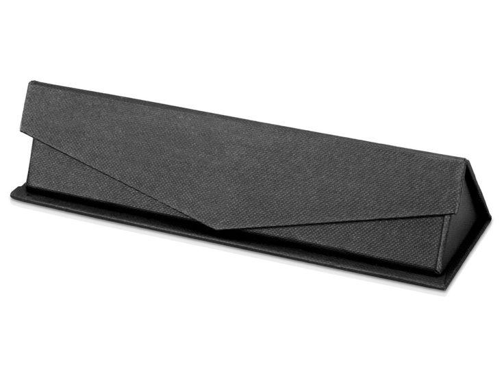 Подарочная коробка для ручек «Бристоль» Классический черный цвет, необычный замок на магните и приятный на ощупь бархат внутри – преимущества, говорящие в пользу приобретения такой подарочной коробки для ручек. На футляр можно нанести любую надпись и изображ�