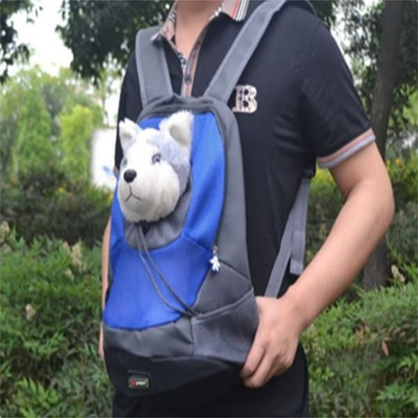Double Shoulder Dog Backpack/Front Bag Carrier