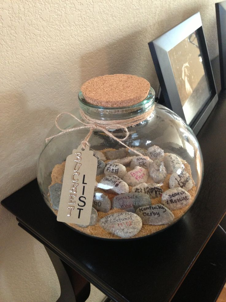 DIY Rock Bucket List | Craft & DIY Ideas | Pinterest | We ...
