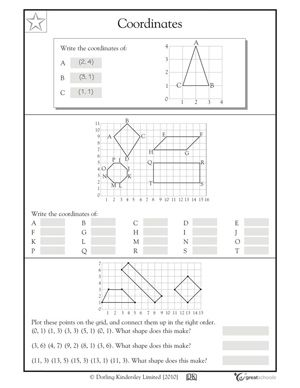 coordinates maths worksheets coordinates cazoom maths worksheets10637 math for grade 5 and 6. Black Bedroom Furniture Sets. Home Design Ideas
