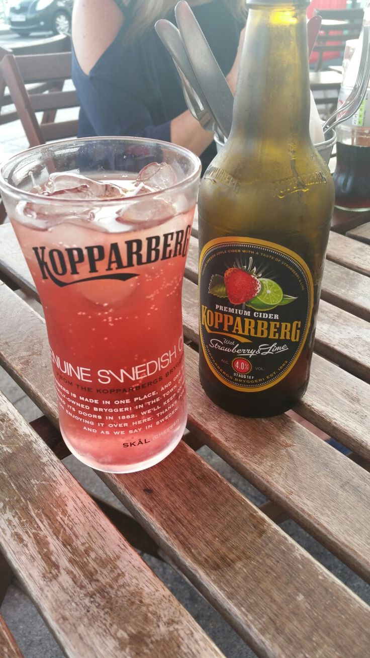 Light refreshments #kopparberg #brighton #americandiner #humpday