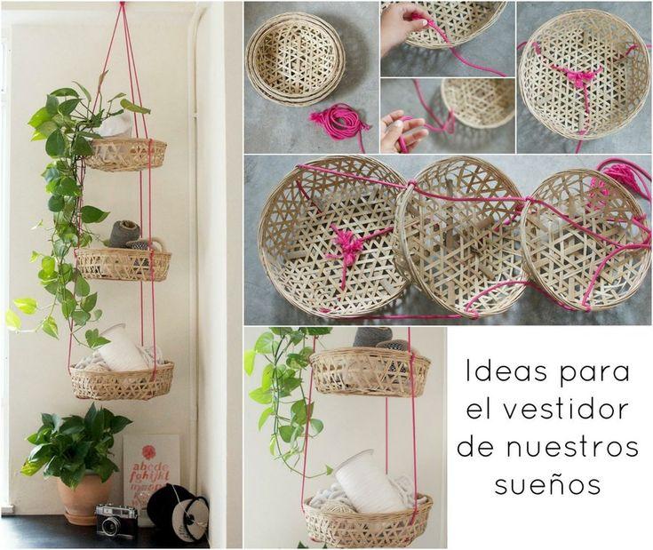 Ideas sencillas y económicas para el vestidor de nuestros sueños (aptos para casas pequeñas)