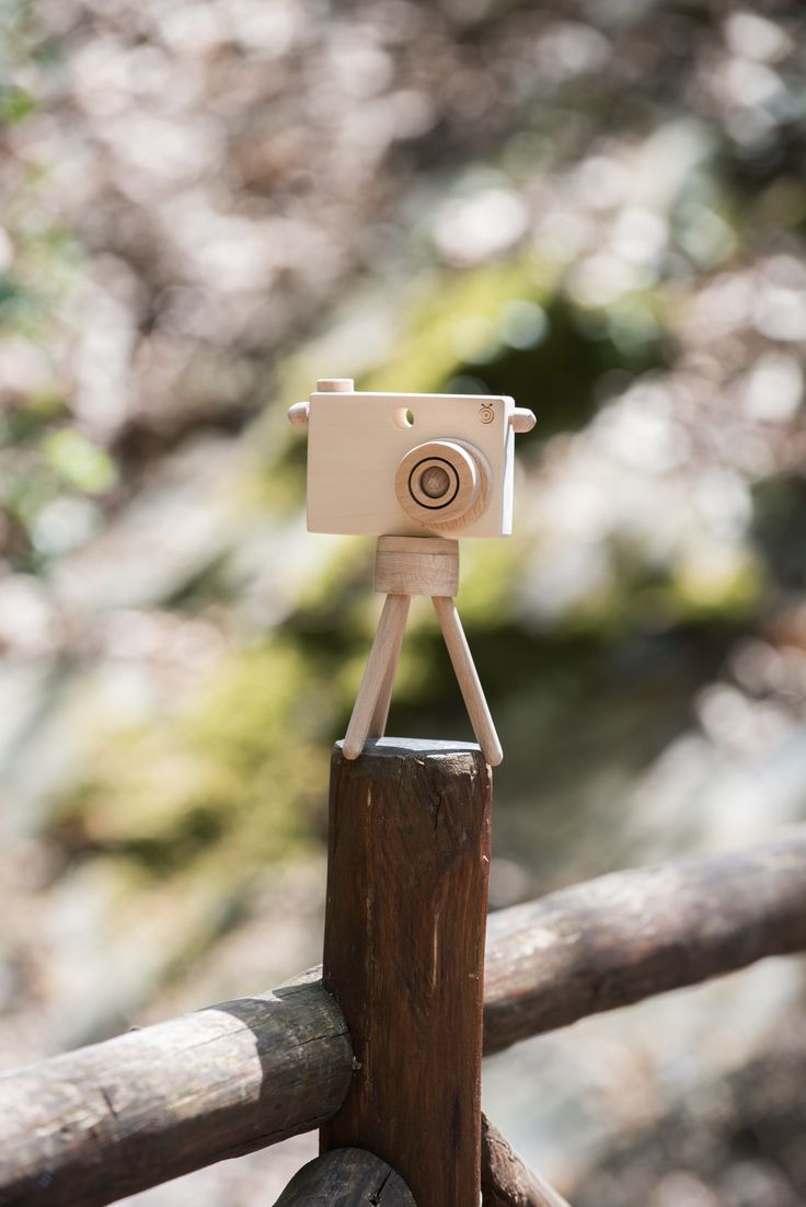 Toy Camera with Tripod by BEIGE BOIS