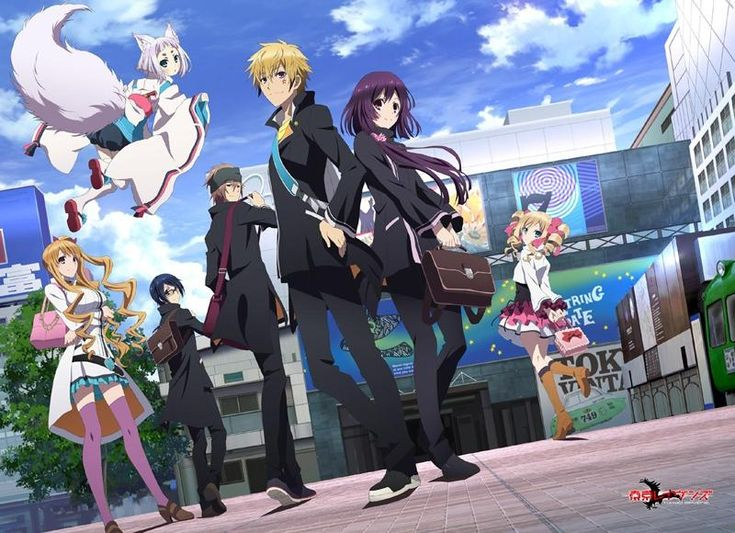 tokyo ravens characters - Google Search