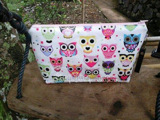 oweli pouch fabric oilcloth
