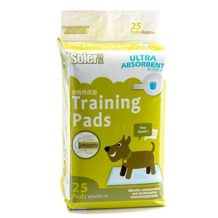 Sweet Home Gift Dog and Cat Diapers Puppy Deodorant Large Training Pads for Little Pets Pack of 25 *** Read more reviews of the product by visiting the link on the image.