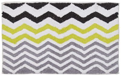 Buy HOME Chevron Bath Mat - Multicoloured at Argos.co.uk, visit Argos.co.uk to shop online for Bath mats