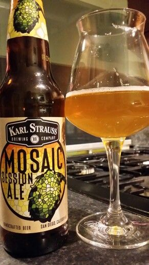Karl Strauss Mosaic Session Ale. Watch the video beer review here…