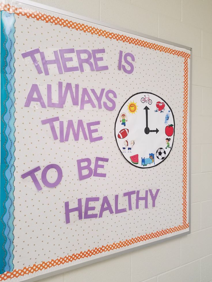 There Is Always Time To Be Healthy #physed