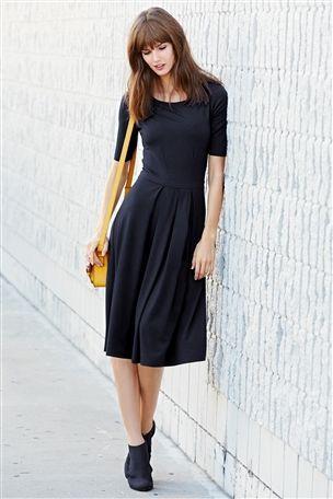 Buy Navy Jersey Midi Dress from the Next UK online shop