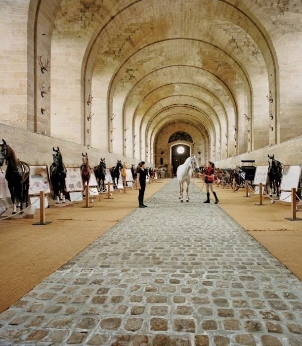 The Great Stables at the Château de Chantilly, arguably the most luxurious stables ever built