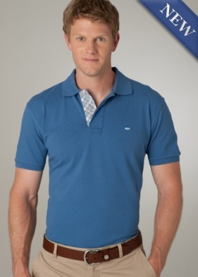 Really cool plaid contrast placket on this poloTide Polo, Skipjack Polo, Southern Tide, Contrast Placket, Plaid Contrast, Masterplaid Placket, Polo 80, Products, Micro Pique