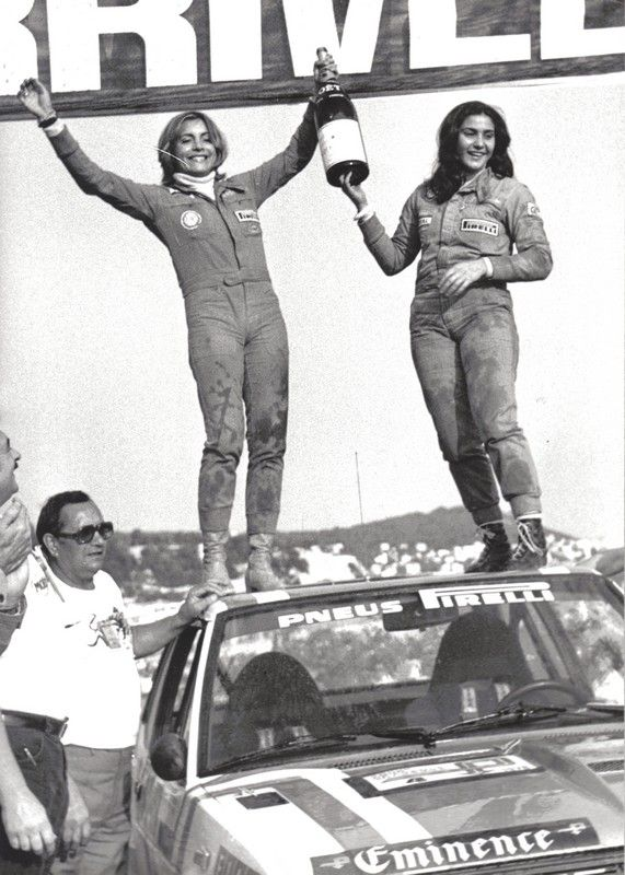 Fabrizia Pons and Michele Mouton
