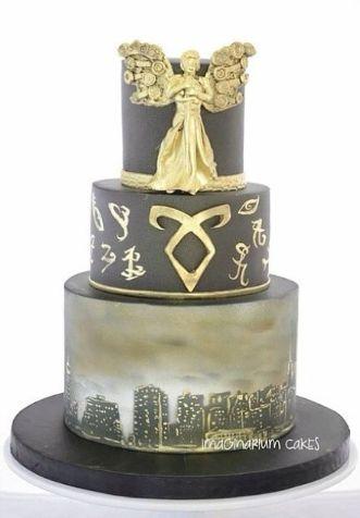 a mortal instruments cake,