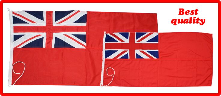 Red Ensigns, Sailing Flags