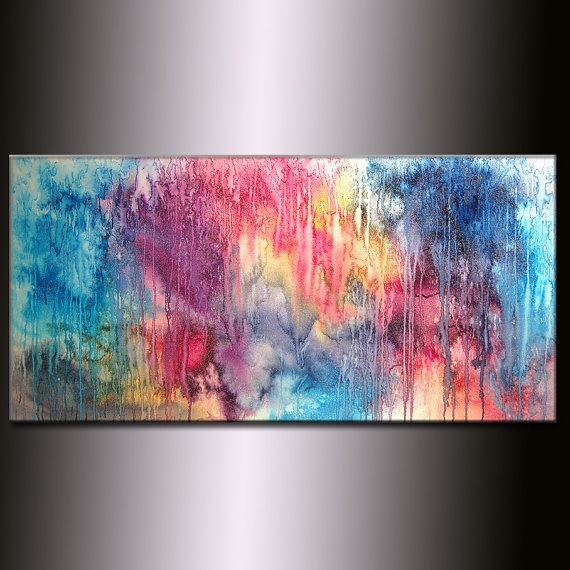Large Abstract Painting Original Abstract by newwaveartgallery, $350.00: Large Abstract, Originals, Art Paintings, Abstract Art, Abestract Painting, Abstract Paintings